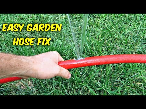 How to Fix a Hole in a Garden Hose