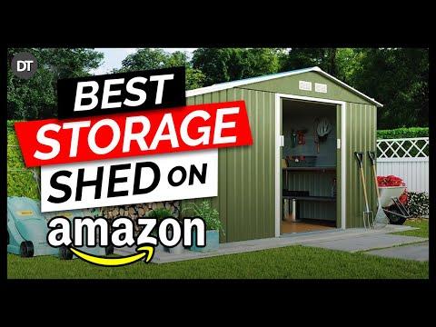 Top 10 Storage Sheds on Amazon 2019