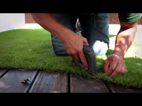 Easigrass Installation on Decking and Balconies