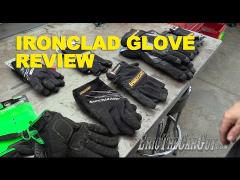 Ironclad Glove Review -EricTheCarGuy