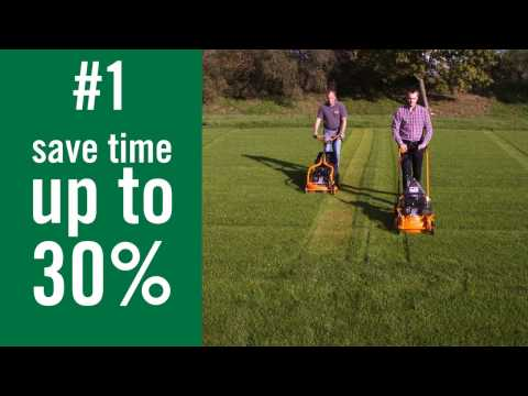 What are the advantages of a mulching mower?