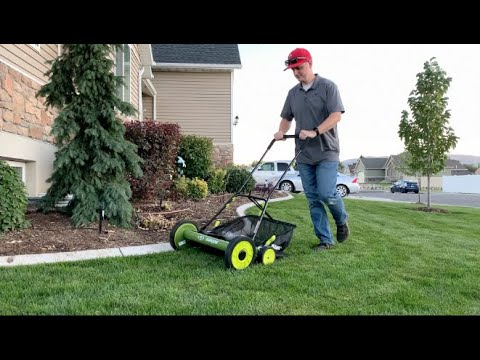 Getting REEL with the SunJoe Manual Reel Mower