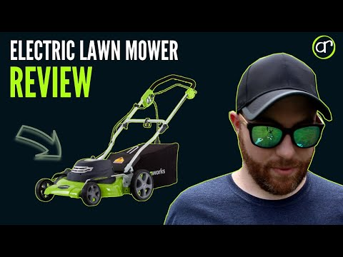Corded Electric Lawn Mower Review - Greenworks 20 inch 12 Amp Corded Mower- Worth It?