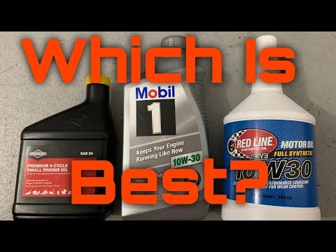 What Is The Best Oil For Lawnmowers | Small Engines