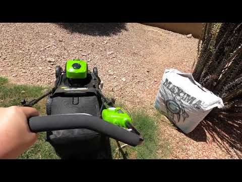 Review: Green works 40 Volt 21 Inch Battery Lawn Mower