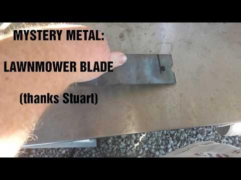 Will it harden? Mystery Metal: Lawnmower Blade