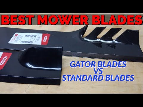 Gator Blades vs Standard Blades - Which one do you need?
