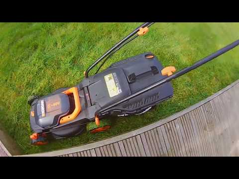 Worx WG779E 2, 40 Volt Battery Mower quick overview