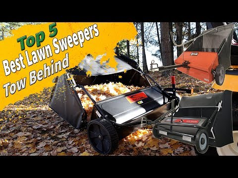 Top 5 Best Tow behind lawn sweeper 2018 | Best lawn sweeper | Best Leaf sweeper