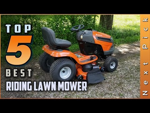 Top 5 Best Riding Lawn Mower Review in 2021